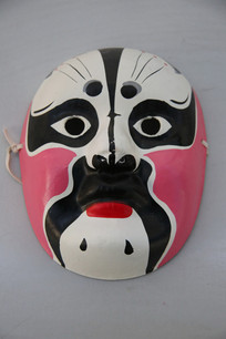 京剧人物脸谱面具