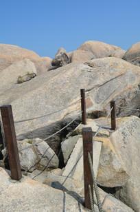 石头公园的山路