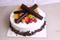 水果奶油夹心蛋糕