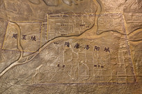 隋唐洛阳城地图