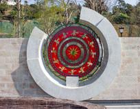 铜鼓图案雕刻