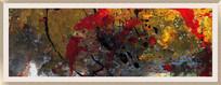 风格抽象油画