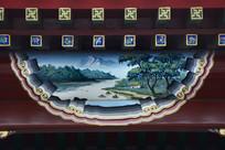 古建彩绘美景民居