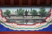 古建彩绘民居图