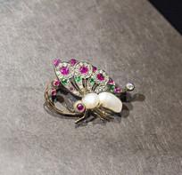 蝴蝶珍珠饰品
