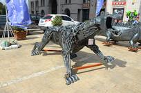 金属机械豹子