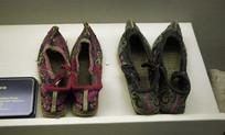 女花鞋和清补贴花双绊鞋