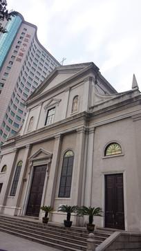 天主教建筑副楼