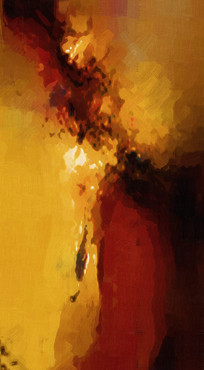 现代简约抽象画无框画装饰画