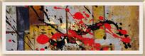 现代简约风格装饰画抽象油画