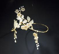 珍珠头环饰品