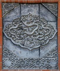 龙图案浮雕