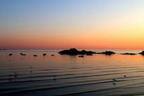 平静的海面