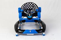 高档蓝色学步车