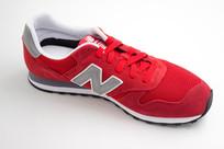 红色休闲鞋
