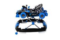 蓝色学步车