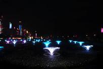 秋水广场音乐喷泉