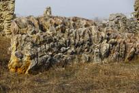 山脚石头展示