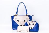 手提包狐狸蓝色