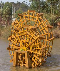 水车景观拍摄
