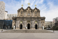 西安天主教堂全景