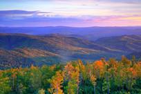 大兴安岭秋季景观