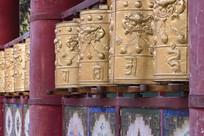 广仁寺转经筒
