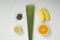 芦荟橙子柠檬