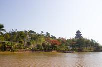 园林湖岸景观