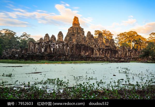 巴戎寺的建筑图片