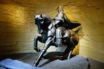 成吉思汗骑马雕像