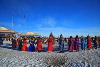 冬季那达慕舞蹈