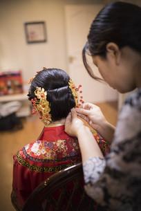新娘中式头饰
