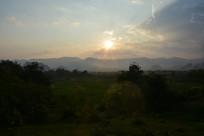 日出的太阳