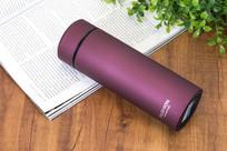 紫红保温杯