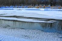 河水冰雪奇观