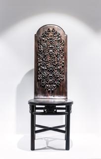 花纹浮雕艺术木椅