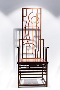 几何艺术木椅