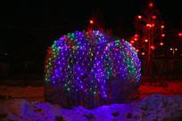靓丽的树灯