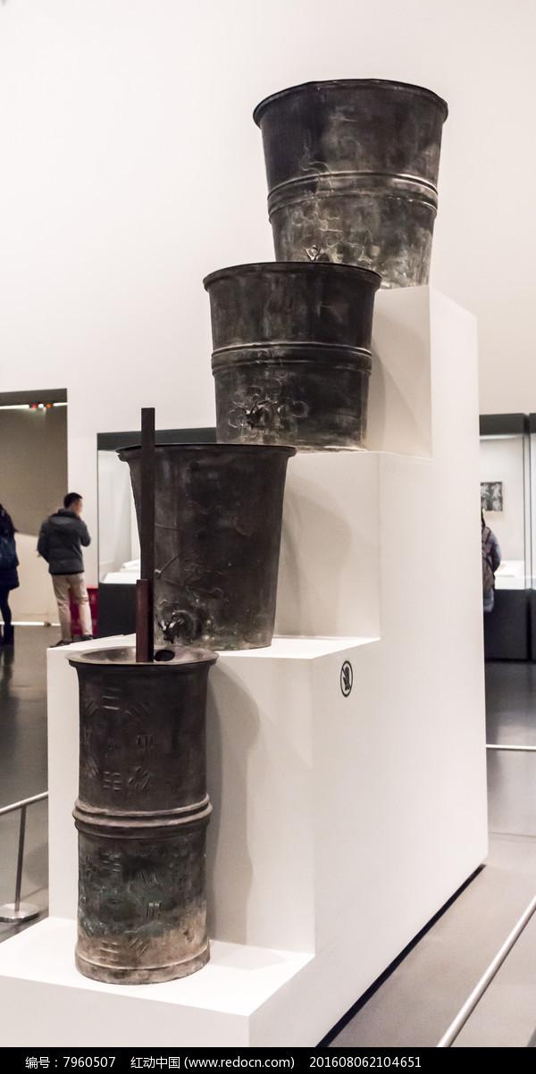 铜壶滴漏图片,高清大图_文物古董素材