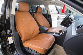 驾驶室橘色汽车坐垫