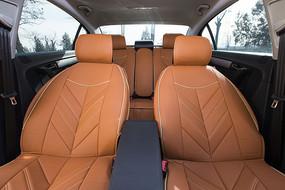 橘色汽车坐垫
