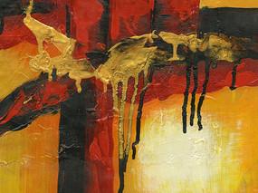 油画背景墙
