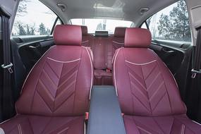 紫色汽车坐垫