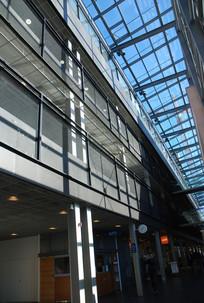 玻璃建筑室内
