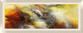抽象画 客厅抽象油画 书房装饰画