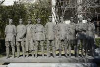 雕塑红军将领