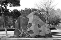 公园景观石头素材