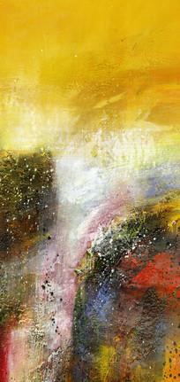 后现代风格高清抽象油画