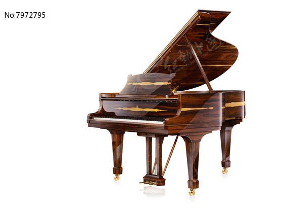 金檀黑钻钢琴高清图片下载 红动网